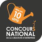 Logo Concours de la Création d'entreprise